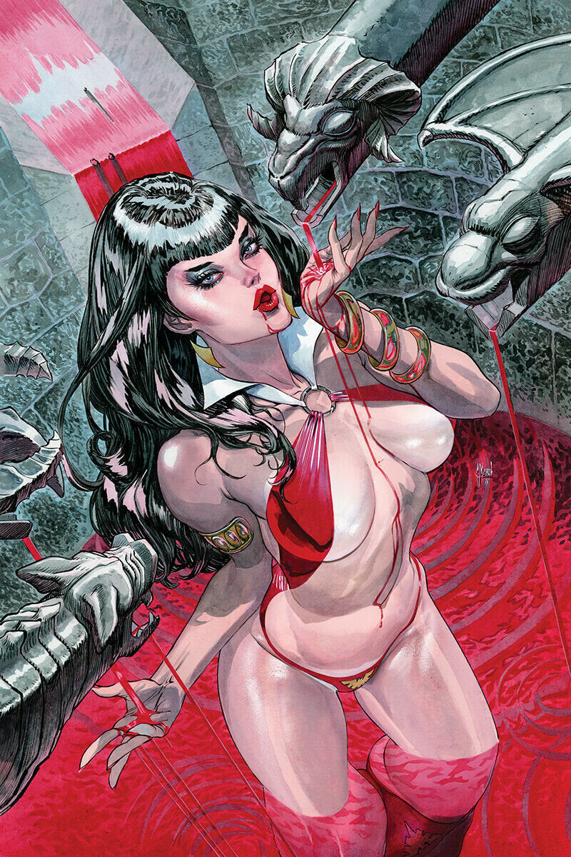 Vampirella #1 (Guillem March)
