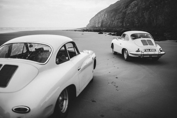 Porsches on Pendine II