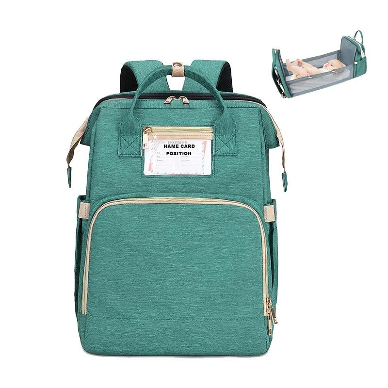 Nursing Backpack With Baby Bed