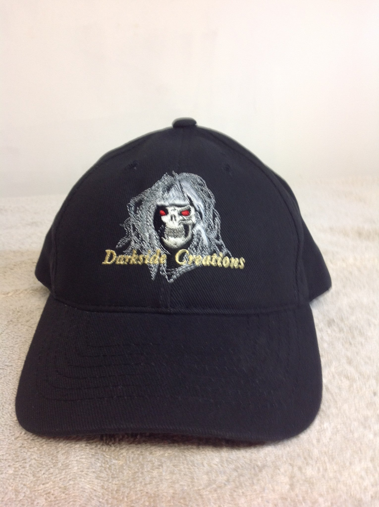 229194ca Adjustable Cotton Ball Cap with Embroidered DSV Logo - DSVCreations