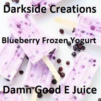 Blueberry Frozen Yogurt 500ml & 1 Liter Bottles