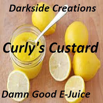 Curly's Custard 500ml & 1 Liter Bottles