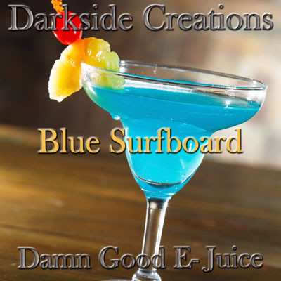 Blue Surfboard 500ml & 1 Liter Bottles