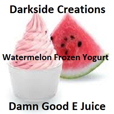 Watermelon Frozen Yogurt
