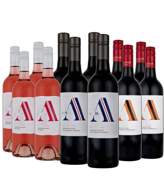 "Aravina ""BEST OF"" Summer Reds — Dozen Deal — FREE Delivery"