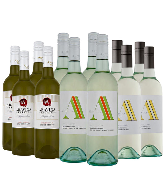 "Aravina ""BEST OF"" Summer Whites — Dozen Deal — FREE Delivery"