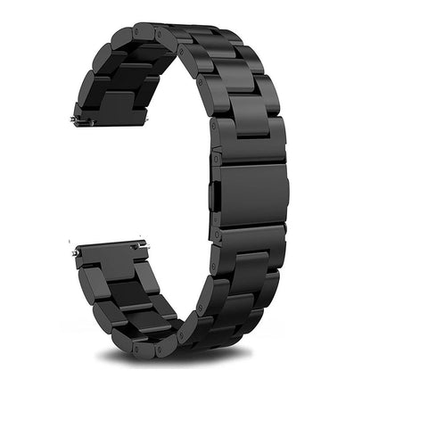 Black Stainless Steel Strap