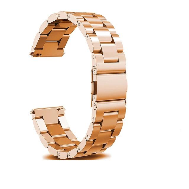 Rose Gold Stainless Steel Strap