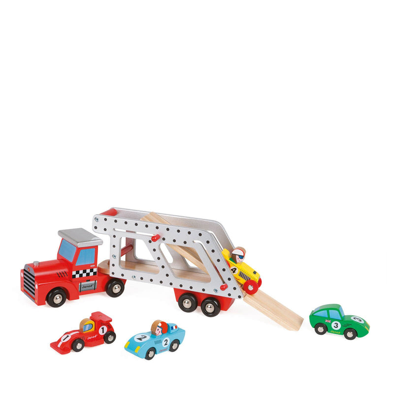 Story 4 Cars Transporter Lorry
