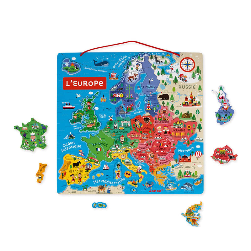 Magnetic European Map