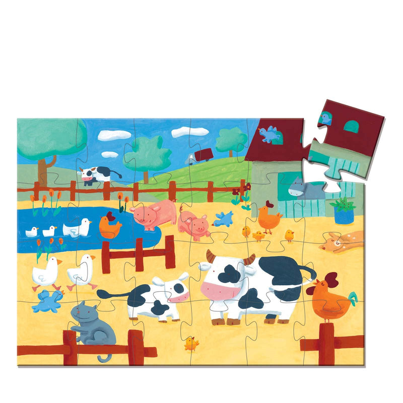 The Cows On The Farm <br> Silhouette Puzzle