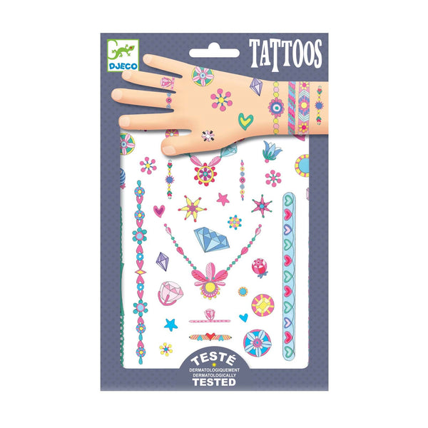 Jennis Jewels <br> Childrens Temporary Tattoos