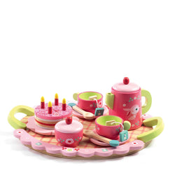 Lili Roses Tea <br> and Cake Set
