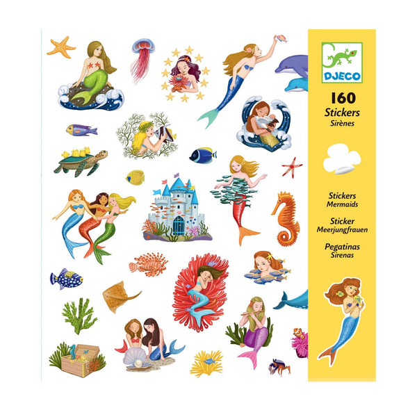 Mermaids Sticker Set