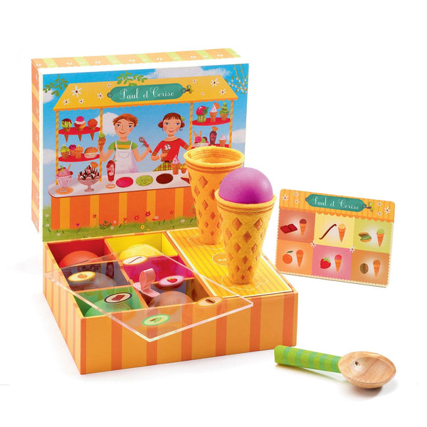 Paul and Cerise <br> Ice Cream Play Set