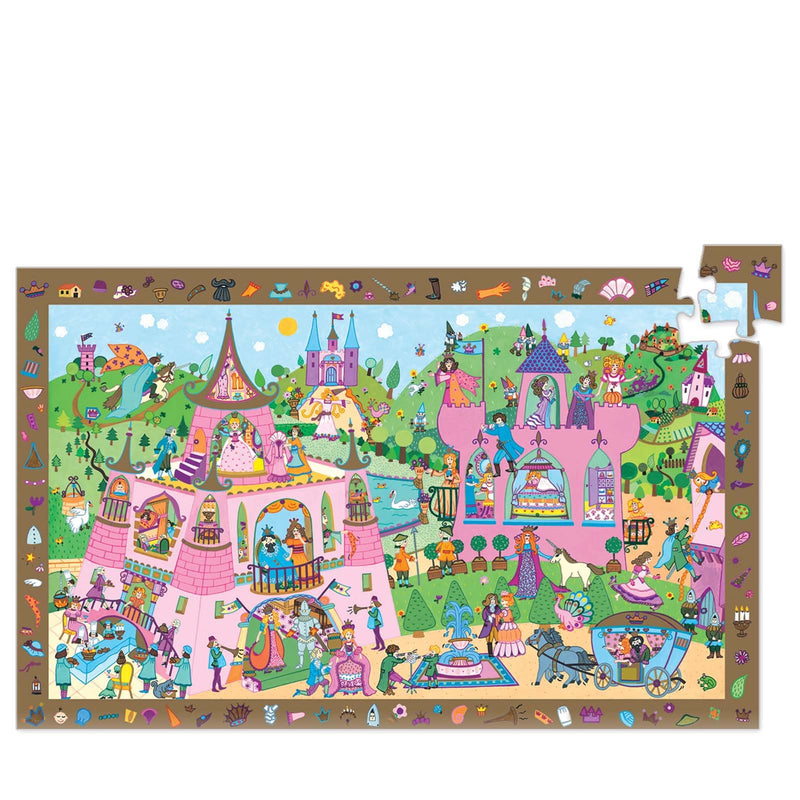 Princess Observation Puzzle