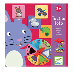 Tactilo Loto Animals <br> Tactile Game
