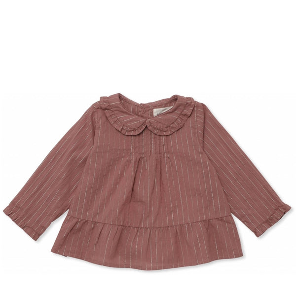 Fia Blouse <br> Ginger Blush