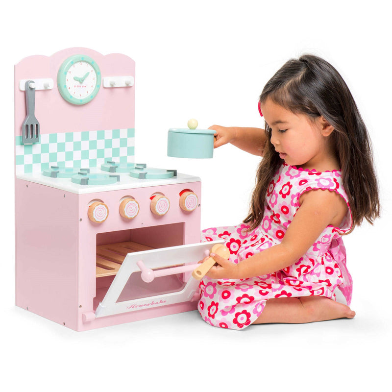Pink Oven and Hob Set