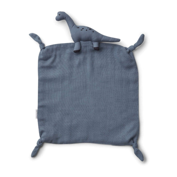 Agnete Cuddle Cloth Dino Blue Wave