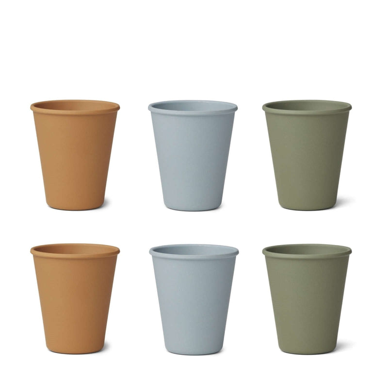 Gertrud Bamboo Cup – 6 Pack Blue Multi Mix