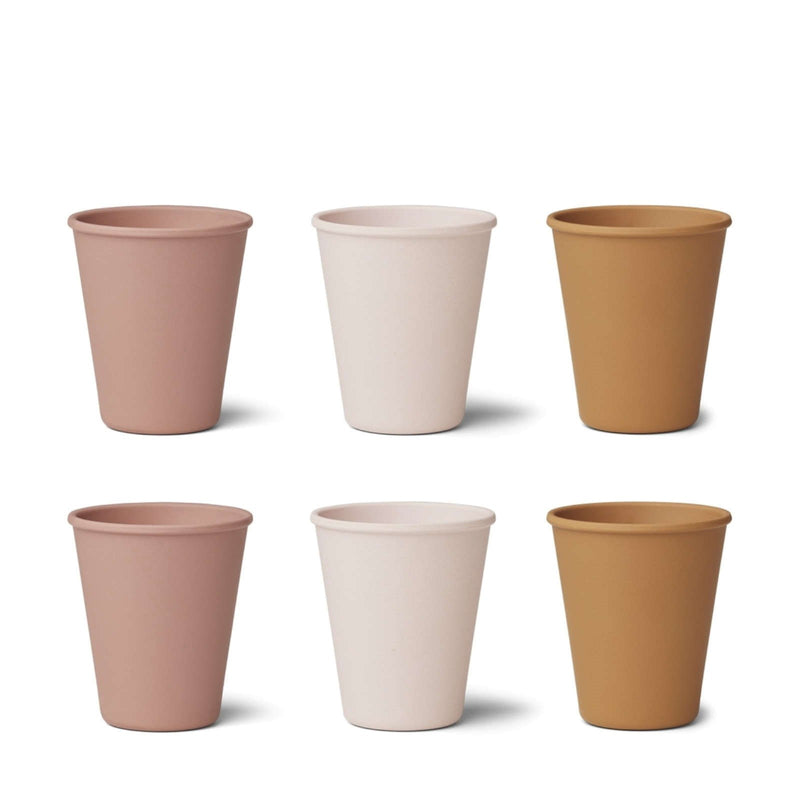 Gertrud Bamboo Cup – 6 Pack Rose Multi Mix