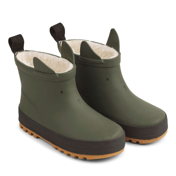 Jesse Thermo Rain Boot Hunter Green / Black Mix