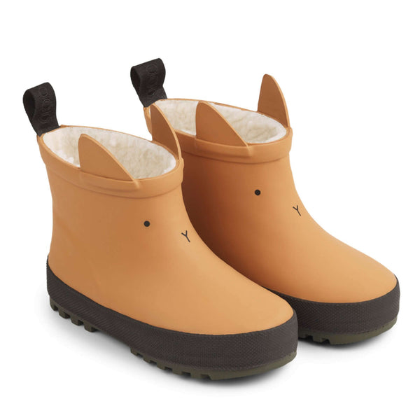 Jesse Thermo Rain Boot Mustard / Black Mix