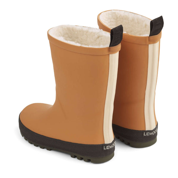 Mason Thermo Rain Boot Mustard / Black Mix