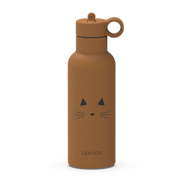 Neo Water Bottle Cat Mustard