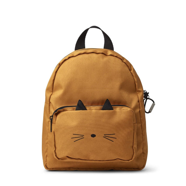 Saxo Mini Backpack Cat Mustard