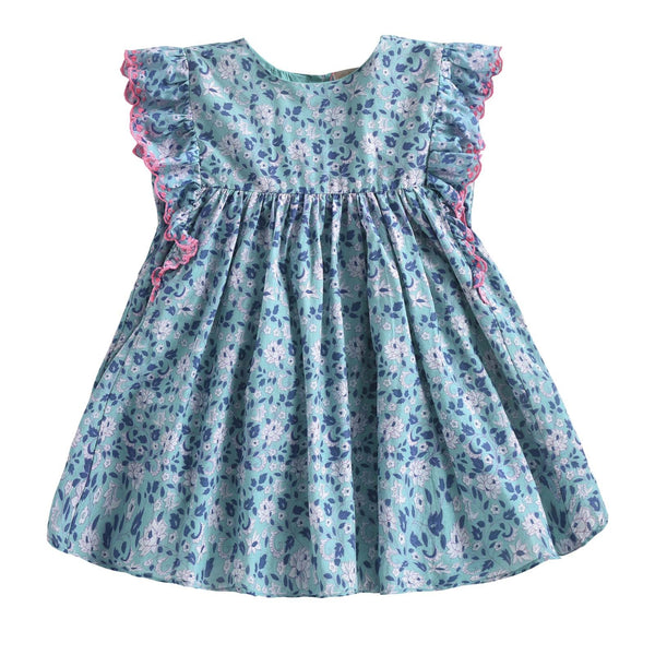 Lyka Emerald <br> Flowers Dress