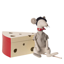 Light Grey<br>Rat in Cheese Box