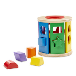 Match and Roll <br> Shape Sorter