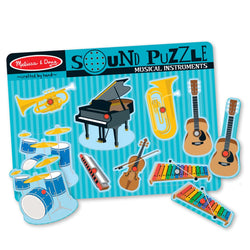 Musical Instruments <br> Sound Puzzle