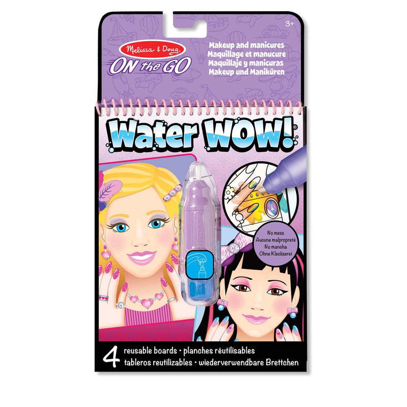 Water Wow! <br> Makeup and Manicures <br> Travel Activity