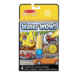 Water Wow! <br> Vehicles Travel Activity