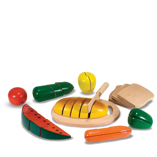 Wooden Cutting <br> Food Set
