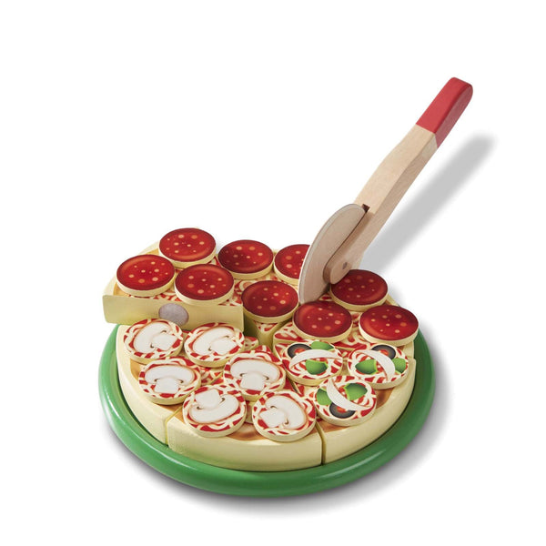 Wooden Pizza Set