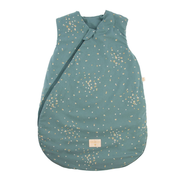 Cocoon Mid Season <br> Sleeping Bag Gold <br> Confetti / Magic Green