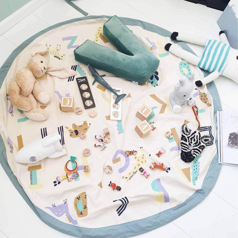 Animal Alphabet <br> Storage Bag / Playmat