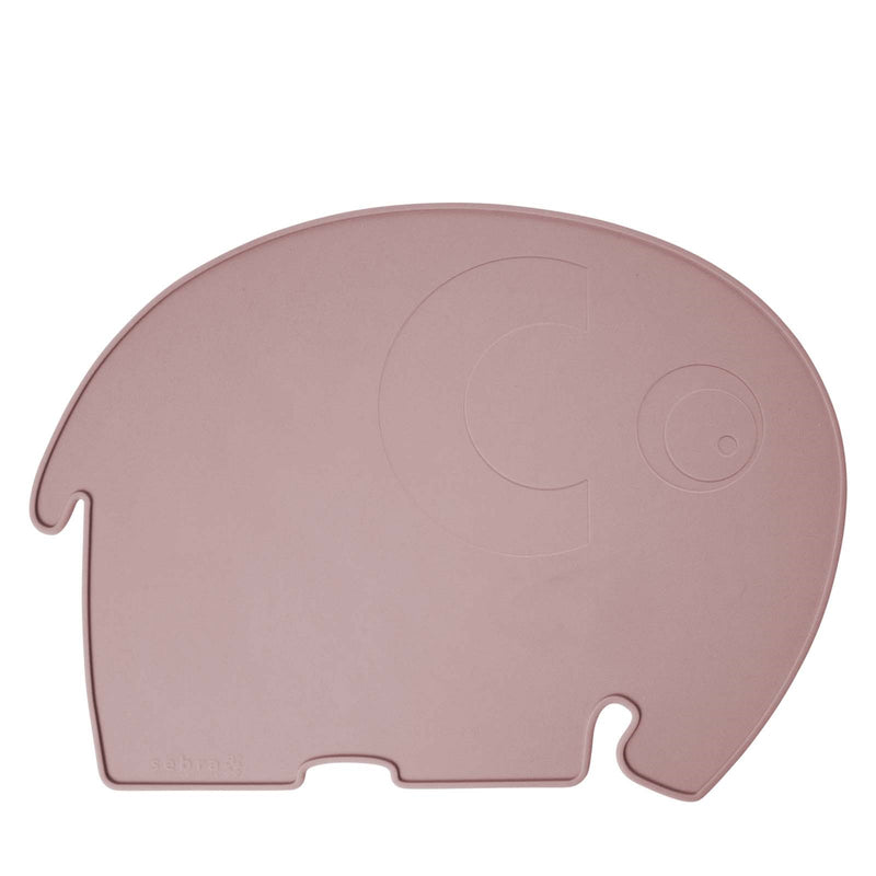 Silicone Placemat <br> Fanto the Elephant <br> Blossom Pink