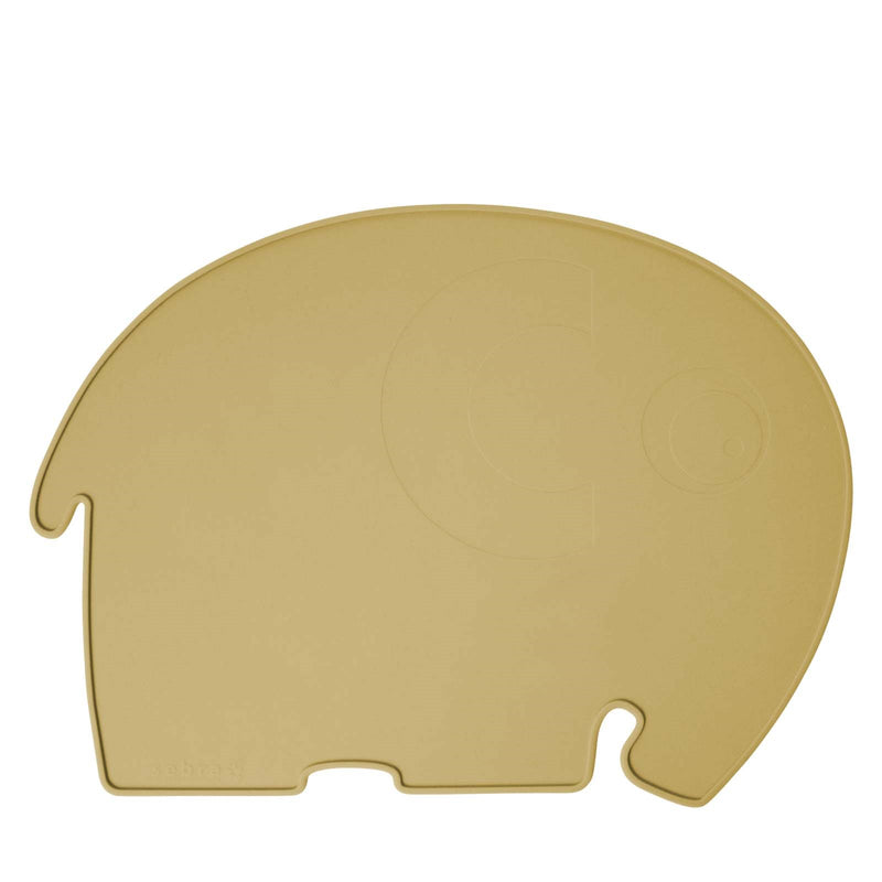 Silicone Placemat <br> Fanto the Elephant <br> Savannah Yellow