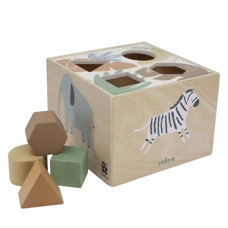 Wooden Shape <br> Sorter Wildlife