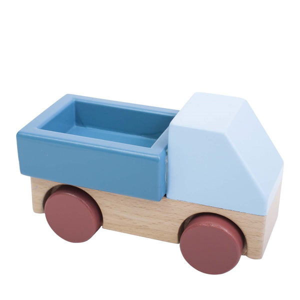 Wooden Truck <br> Stone Blue