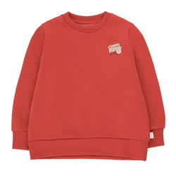 """Central Park"" Sweatshirt<br>Burgundy / Cream"