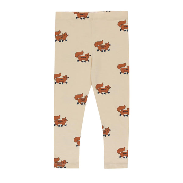 "Tiny Cottons ""Foxes"" Pants<br>Cream / Brown"