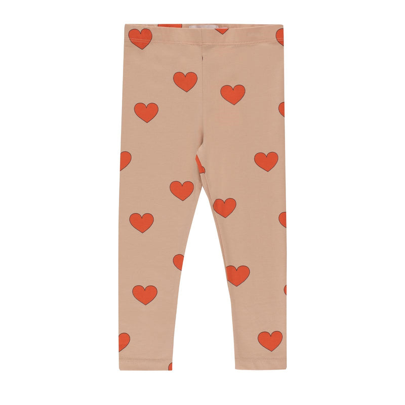 """Hearts"" Pants<br>Light Nude / Red"