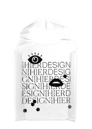 DESIGNHERS - Clear Tote Bag