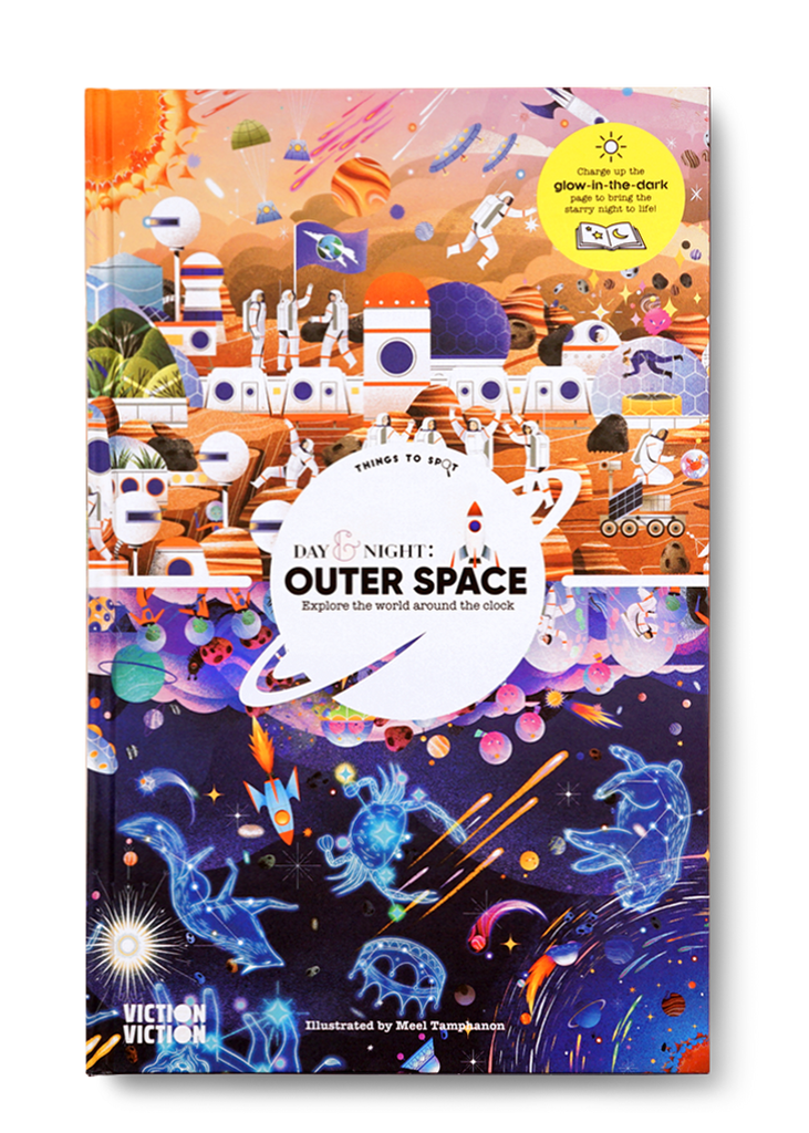 Day & Night: Outer Space